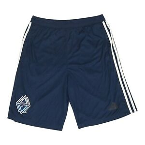 Vancouver Whitecaps FC MLS Adidas Men's Navy Blue Team Crest Shorts