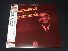 Dointhankg by Ronnie Mathews and Ronnie Mathews Freddie Hubbard Japan Mini LP CD