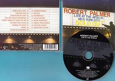 Robert Palmer - CD - Live At The Apollo, NYC 2000 - CD von 2001 - Neuwertig !