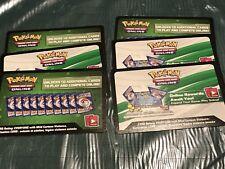 6 x Pokemon SM Lost Thunder Code TCGO Cards TCG Codes