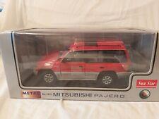 Sun Star Mitsubishi Pajero 1.18 Scale Model red