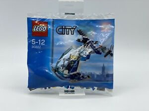 Lego City 30222-Police Helicopter-New And Unopened
