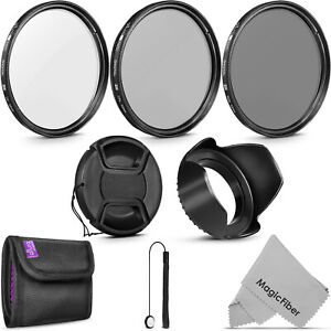 52MM Altura Photo Filter Kit UV CPL ND4 for Nikon D7100 D5200 D3300 D3200