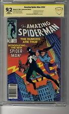 Amazing Spider-Man # 252 - CBCS 9.2 White Pages Newstand Edition SS Fingeroth