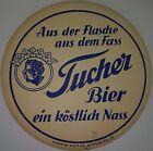 alter Bierdeckel TUCHER BIER 🍺 T-3