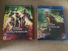Thor Ragnarok Blu-ray NEW & SEALED With Slipcase Marvel Avengers Chris Hemsworth