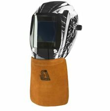 Steiner Leather Welding Helmet Bib 12109 Hook & Loop Hood Neck Protector