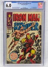 Marvel Comics Iron Man & Sub-Mariner #1 CGC 6.0 Whiplash & Destiny Appear 1968