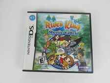 RIVER KING: MYSTIC VALLEY  NINTENDO DS GAME Complete Tested Very Good