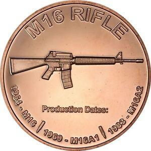 1 oz Copper Round - M16
