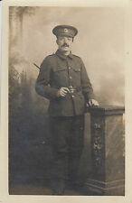 RPC Postcard: WW1 - Studio Portrait, The Duke of Cambridge's Own (Middlesex)