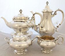 Kaffee- und Teeservice in 830er Silber 1910 / Wilkens