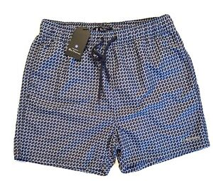 Ben Sherman Swimming Trunks. Multi Design And Size Large Pink Sands Shade