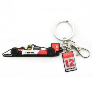 Ayrton Senna Collection McLaren Rubber Keyring MP4-4 F1 Car