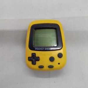 NINTENDO Retro game Pokemon Pikachu MPG-001 Good Condition From Japan