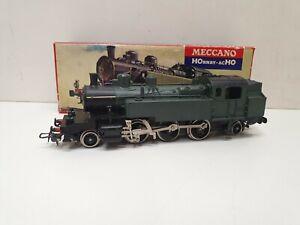 Hornby acho locomotive a vapeur 131tb verte et noire en HO