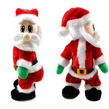 Christmas Xmas Santa Claus Figure Twisted Hip Twerking Sing Electric Toy Gift LZ