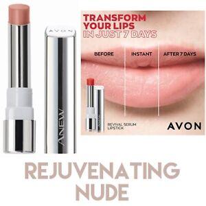 AVON Anew Revival Serum Lipstick In Rejuvenating Nude. New & Sealed
