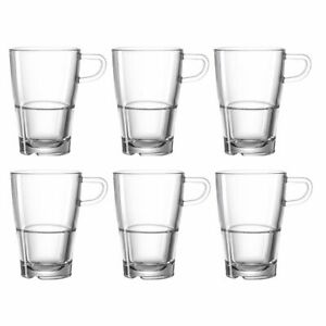 Leonardo Latte Macchiato Senso Coffee Cup - Set of 6