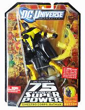 DC UNIVERSE CLASSICS 75 YEARS OF SUPER POWER SINESTRO CORPS BATMAN