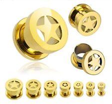 Body piercing in oro in acciaio