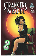 Strangers in Paradise #6 volume 2 1995 Abstract Studio NM 1st printing