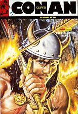 Super Conan - Album N° 14 (N° 40 à 42) - Mon Journal-Marvel - 1989 - TBE