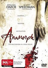 Anamorph DVD Willem Dafoe Scott Speedman Clea DuVall