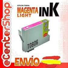 Cartucho Tinta Magenta Claro / Rojo T0806 NON-OEM Epson Stylus Photo RX585