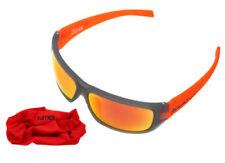 Gafas de sol de hombre grises deportivos de plástico