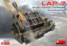 Miniart 1:35 LAP-7 Rocket Launcher Soviet WWII Era Vehicle Model Kit