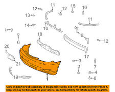 TOYOTA OEM 05-06 Camry-Bumper Cover 5211933933