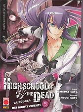 HIGH SCHOOL OF THE DEAD N°5 Edizione Planet Manga