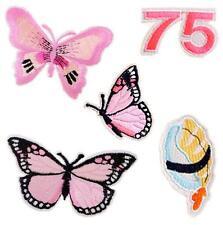 5stk/set Schmetterling Muster Stickerei Flicken Patch Applikation Nähen Handarbe