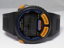 """Vintage Casio JC-10 """"Running Man"""" Work Out Sport Running Swimming Watch"""