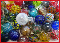 Bulk Mix Lot of 48 Hanging Glass Round Ball, Tops, Hearts & More Many Designs