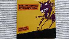Rolling Stones 1990 Interview CD (Rare/Near Mint)