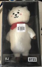 Official BTS x LINE BT21 JIN Standing RJ PLUSH DOLL 13 inch NEW In Box-US Seller