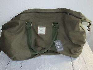 Abercrombie &Fitch Reisetasche Weekender bag in oliv - neu -