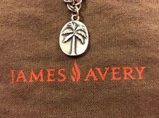 James Avery Sterling Silver Palm Tree Charm Pendant Necklace Bracelet Beach