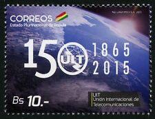 Bolivien Bolivia 2015 ITU UIT Telekommunikation MNH