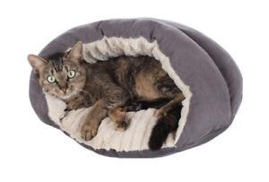 Hunter Brighton Cat Cave Cat Bed, 61 x 61 cm, Grey