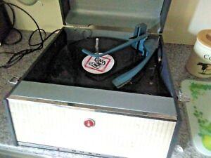 Bush Monarch Record Player Vintage Retro, Working