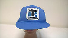 Thermo King Blue Mesh Trucker Cap Hat Snap Back One Size Adjustable
