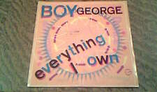45 tours Boy george - Everything i own