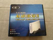 """3.5"""" HDD ALUMINIUM MOBILE ENCLOSURE USB 2.0"""