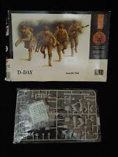 D-Day US Infantry WW2 1/35 Materbox  MB3520 plastik kit