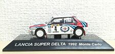 1/64 CM's 1992 LANCIA SUPER DELTA MONTE CARLO rally martini diecast car model