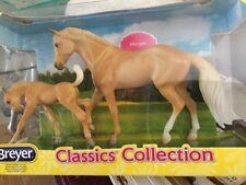 Breyer Model Horses Classics Collection Palomino Morgan Horse & Foal
