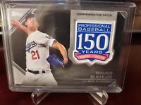 2019 Topps Update 150th Anniversary Manufactured Walker Buehler #AMP-WB Patch